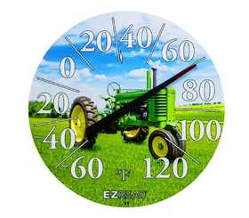 Headwind 840-1233 Dial Thermometer Green Tractor 12.5 in