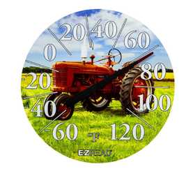 Headwind 840-1234 Dial Thermometer Red Tractor 12.5 in