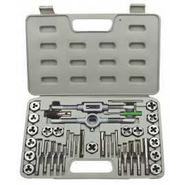 ATE Pro Tools 50011 Tap & Die Set 40pc Mm
