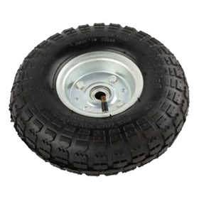 ATE Pro Tools 40126 Pneumatic Tire With White Hub 10 in