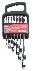 ATE Pro Tools 10924 Flexible Ratchet Wrench Sae Set 7-Piece