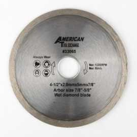 ATE Pro Tools 33065 4-1/2-Inch Diamond Wet Blade