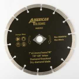 ATE Pro Tools 40263 7 In Dry Diamond Blade