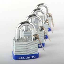 ATE Pro Tools 40235 Padlock 4pc 50mm