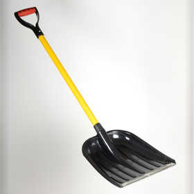 ATE Pro Tools 97819 Poly Scoop Shovel With Fiberglass Handle