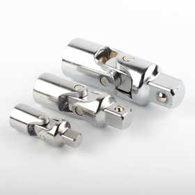 ATE Pro Tools 50228 Universal Joint Adaptor Chrome 3pc