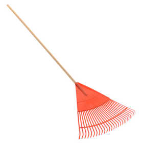 Plastic Rake Orange