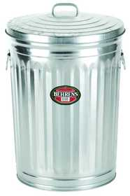 Behrens 1270 Garbage Can 31 Gal W/Cover