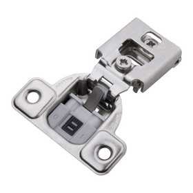 Hickory Hardware HH74716-14 Soft Close 1/2 in Overlay Face Frame Hinge Bright Nickel