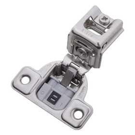 Hickory Hardware HH74718-14 Soft Close 1-1/4 in Overlay Face Frame Hinge Bright Nickel
