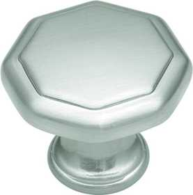 Hickory Hardware P14004-SN Cabinet Knob 1-1/4 in Dia