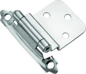 Hickory Hardware P143-26 Cabinet Hinge Offset 3/8 Self Closing