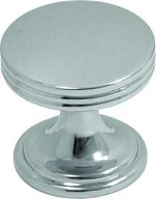 Hickory Hardware P2140-CH Cabinet Knob 1 in Dia
