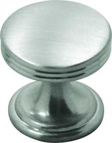 Hickory Hardware P2140-SN Cabinet Knob 1 in Dia