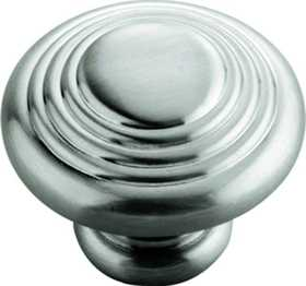 Hickory Hardware P3103-SN Cabinet Knob 11/4 in Dia
