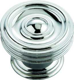 Hickory Hardware P3130-CH Cabinet Knob 15/8 in Dia