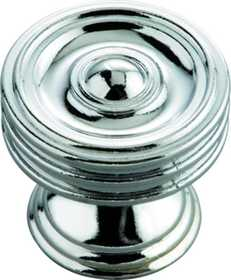 Hickory Hardware P3131-CH Cabinet Knob 11/4 in Dia