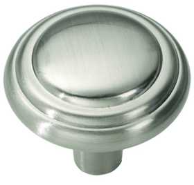 Hickory Hardware P3464-SN Cabinet Knob Bel Aire