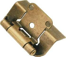 Hickory Hardware P5710F-AB Cabinet Hinge Full Wrap Self Closing