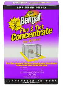 Bengal Products Inc 87540 Flea & Tick Concentrate 3 oz