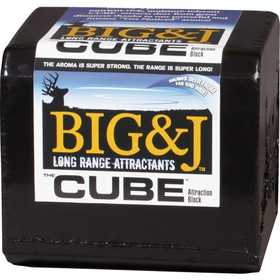 BIG & J INDUSTRIES BB2C2580 Bb2 Cube 25lb Blk