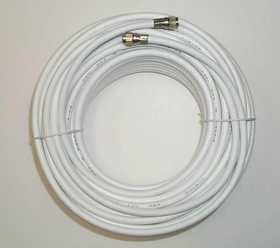 Blackpoint BS-065 WHT Weatherproof Coax Cable Rg6 100 ft White
