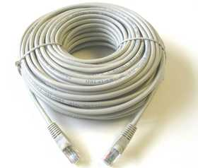 Blackpoint BT-218 GRAY Cat5 Patch Cord 100 ft