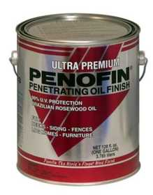 Penofin F3MMB5G Ultra Premium Red Label Penofin Exterior Wood Stain In Transparent Mission Brown 5 Gal