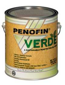 Penofin F0VNAQT Penofin Verde 0 Voc Interior Or Exterior Wood Stain In Natural 1 Quart