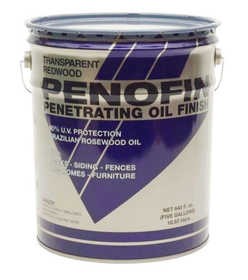 Penofin F5ESA5G Transparent Original Blue Label Penofin 550 Voc Exterior Wood Stain in Sable 5 Gal