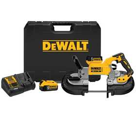 Dewalt dcs374p2 20v max brushless deep cut band saw kit for Sutherlands deck kits