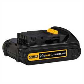 DeWalt DCB201 20v Max Lithium Ion Compact Battery Pack (1.5 Ah)