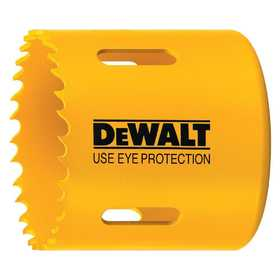 DeWalt D180040 2-1/2 in (64mm) Bi-Metal Hole Saw