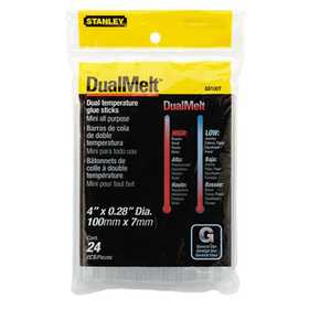 Stanley Tools GS10DT Glue Stick Mini 4 In Dual Temp 24pk