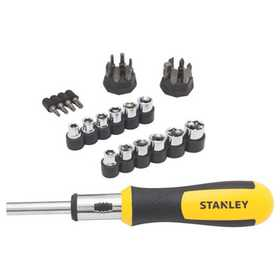 Stanley Tools 54-925 Screwdriver Ratcheting 29pc
