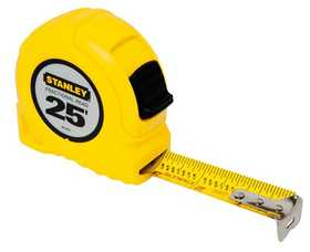 Stanley Tools 30-454 Tape Measure 1x25 Ft Fractional