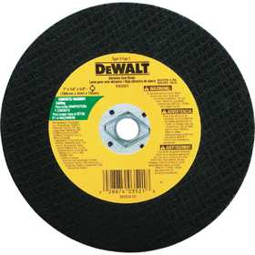DeWalt DW3511 7 In X 1/8 In X 5/8 In -Diamond Drive Metal Cutting Blade