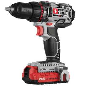 Porter-Cable PCCK600LB 20v Max* 1/2 in Lithium Ion Drill/Driver Kit