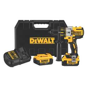 DeWalt DCD995M2 20v Max* Xr Lithium Ion Brushless Premium 3-Speed Hammerdrill Kit