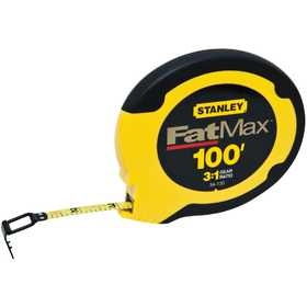 DeWalt 34-130 100 ft FatMax Steel Long Tape