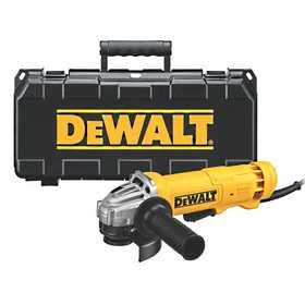 DeWalt DWE402K 4-1/2 in (115mm) Small Angle Grinder Kit