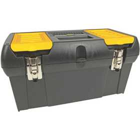 Stanley Tools 019151M Tool Box W/Metal Latches 19 In