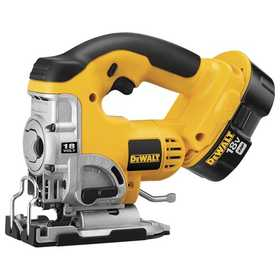 DeWalt DC330K 18v Cordless Jig Saw Kit With Keyless Blade Change