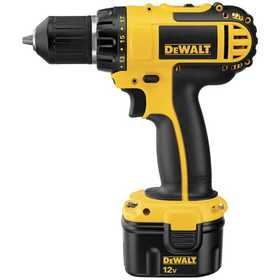 DeWalt DC742KA 12v 3/8 In (10mm) Cordless Compact Drill/Driver Kit