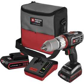 Porter-Cable PCL180DRK-2 Drill/Driver Kit 18v Lithium