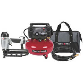 Porter-Cable PC1PAK 2-1/2 In Finish Nailer/Compressor Combo
