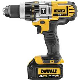 DeWalt DCD985L2 20v Max Lithium Ion Premium 3-Speed Hammerdrill Kit (3.0 Ah)
