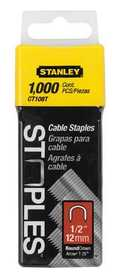 Stanley-Bostitch CT108T Cable Staple 1/2 In