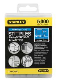 Stanley Tools TRA705-5C Heavy Duty Staples 5/16 In 5000bx