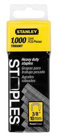 Stanley Tools TRB506T Heavy Duty Staples 3/8 In 1000bx